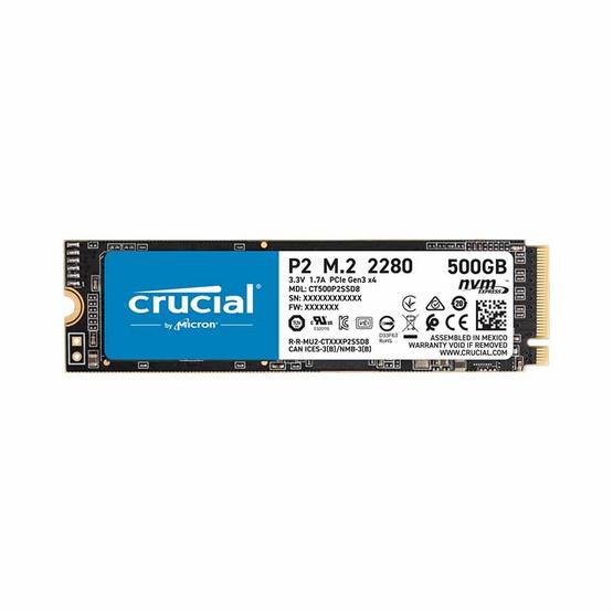 Crucial SSD P2 M.2 NVMe PCI-E 500GB