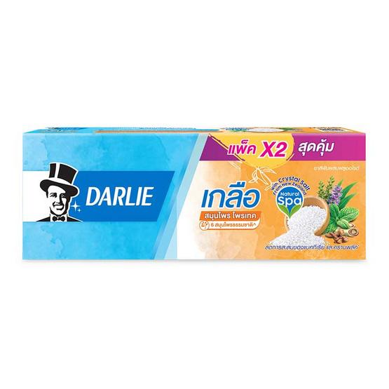 ดาร์ลี่ ยาสีฟัน เกลือสมุนไพรโพรเทค 140 กรัม (แพ็กคู่)