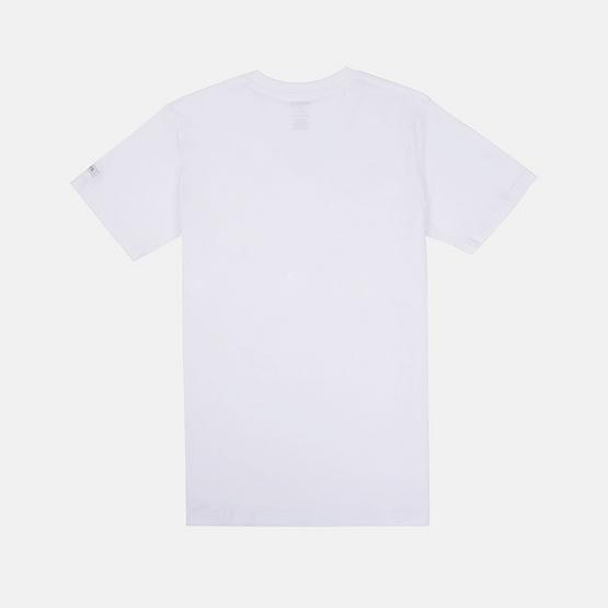 KOO'S เสื้อยืดคอวีแขนสั้นขาว