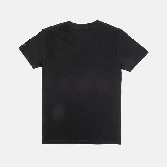 KOO'S เสื้อยืดคอวีแขนสั้นดำ