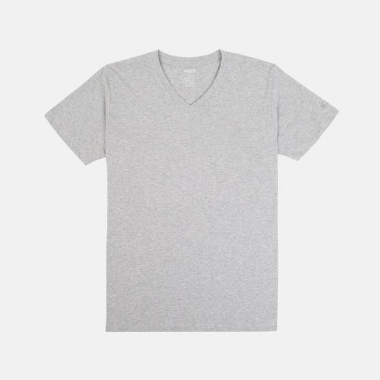 KOO'S เสื้อยืดคอวีแขนสั้นท๊อปดายอ่อน