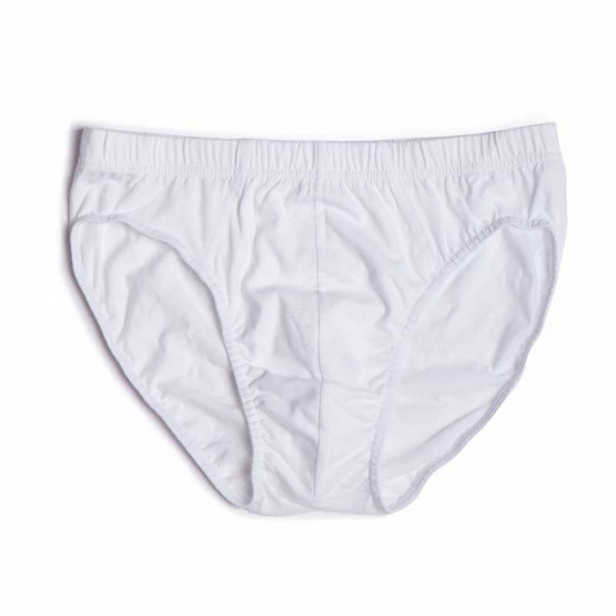 KOO'S กางเกงในรุ่นเอสเซนเชียลบรีฟยางหุ้มขาว3Pack