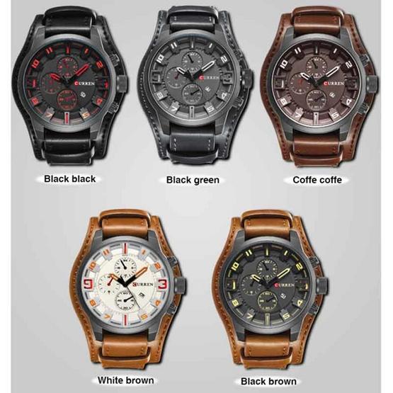 Curren นาฬิกาข้อมือ รุ่น C8225-BK-RE