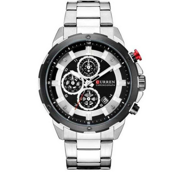 Curren นาฬิกาข้อมือ รุ่น C8323-SI/BK