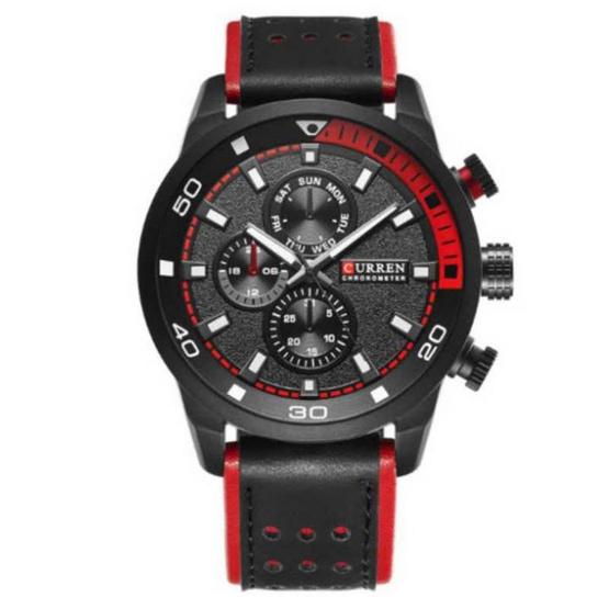 Curren นาฬิกาข้อมือ รุ่น C8250-BK/RE