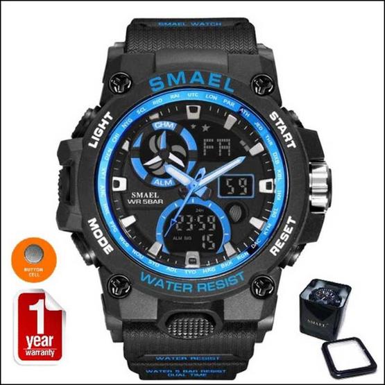 Smael นาฬิกา รุ่น SM8011-BK/BL
