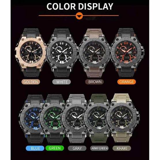 Smael นาฬิกา รุ่น SM8003-BK/OR