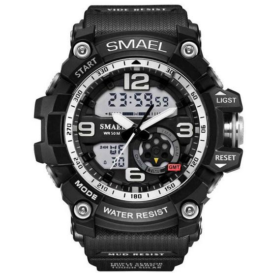 Smael นาฬิกา รุ่น SM1617-BK/WH