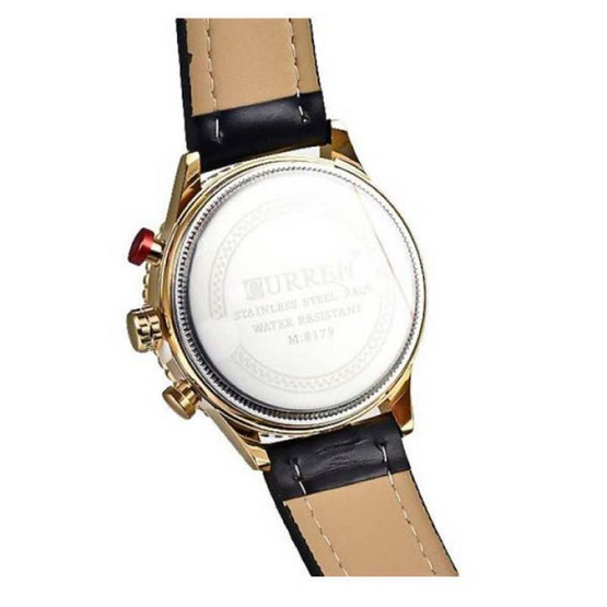Curren นาฬิกาข้อมือ รุ่น C8179-SI/BK