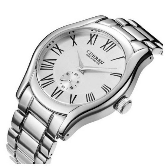 Curren นาฬิกาข้อมือ รุ่น C8061-SI/WH
