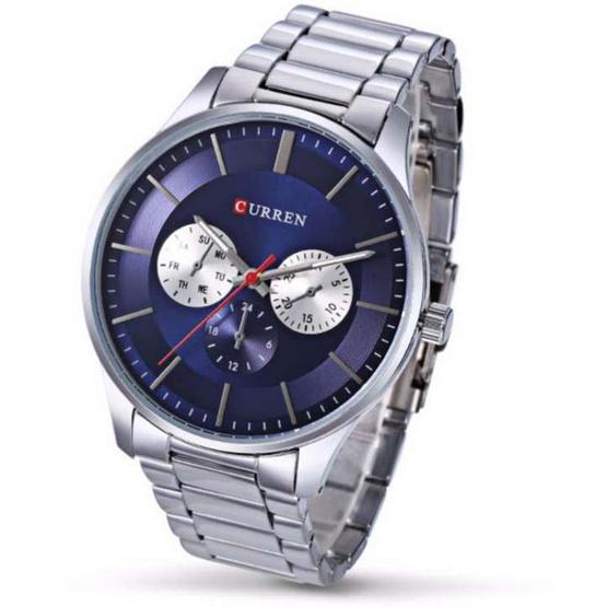 Curren นาฬิกาข้อมือ รุ่น C8282-SI/BL
