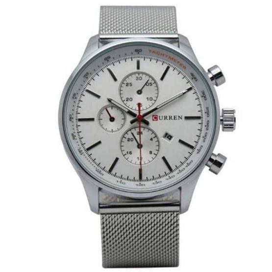 Curren นาฬิกาข้อมือ รุ่น C8227-SI/WH