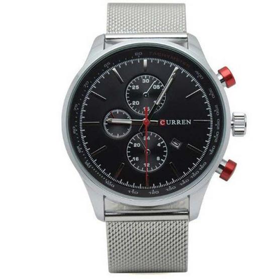 Curren นาฬิกาข้อมือ รุ่น C8227-SI/BK