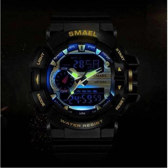 Smael นาฬิกา รุ่น SM1436-BK/RE