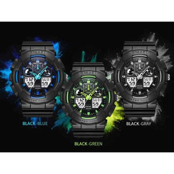 Smael นาฬิกา รุ่น SM1027-BK/GR