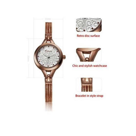 Kimio นาฬิกาผู้หญิง รุ่น KW532-BR