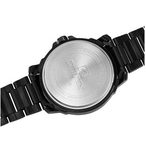 Curren นาฬิกา รุ่น C8229ดำ/ส้ม
