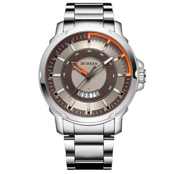 Curren นาฬิกา รุ่น C8229เงิน/น้ำตาล