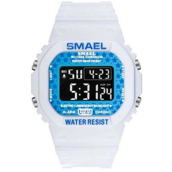 SMAEL ผู้ชาย รุ่น SM1801ขาว