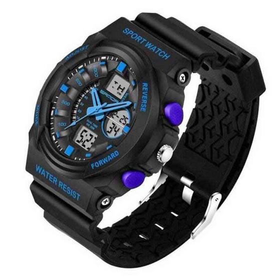 SANDAWATCH นาฬิกาข้อมือ SW241น้ำเงิน