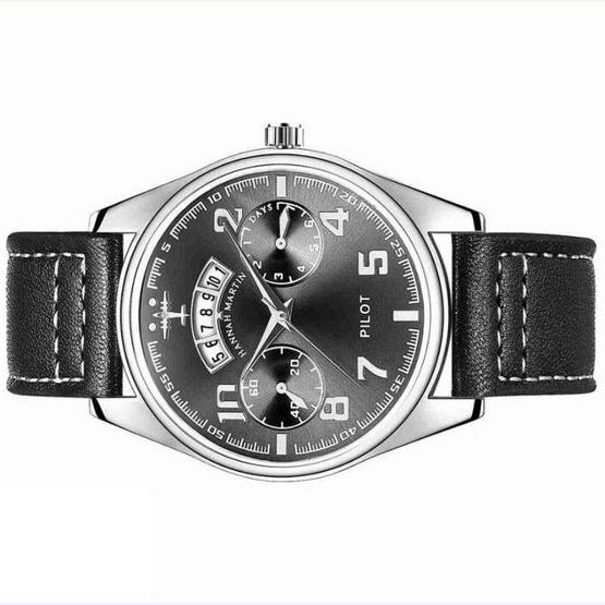 HANNAH MARTIN นาฬิกาข้อมือ รุ่น HM-KY19 ดำ