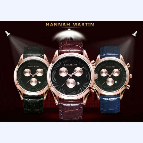 HANNAH MARTIN ผู้ชาย รุ่น HM302ดำ