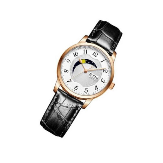 EYKI นาฬิกาข้อมือ รุ่น E1060ดำ