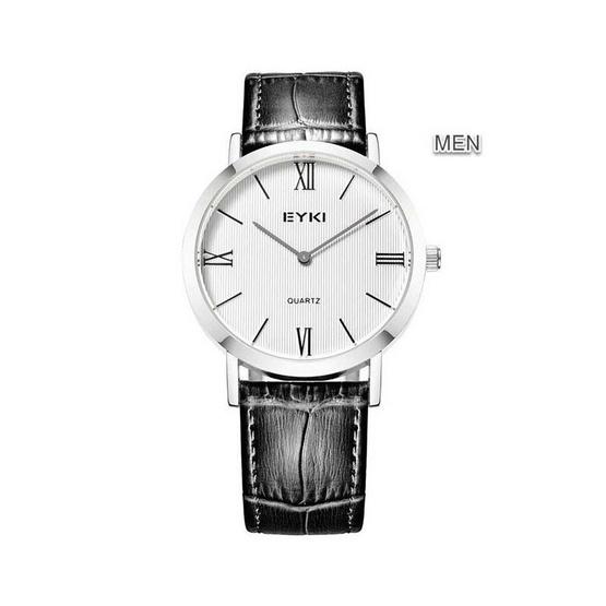 EYKI นาฬิกาข้อมือผู้ชาย รุ่น E1051ดำ