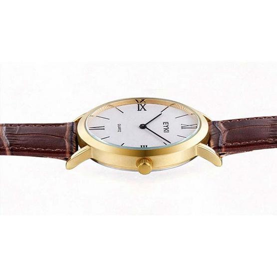 EYKI นาฬิกาข้อมือผู้ชาย รุ่น E1051น้ำตาล