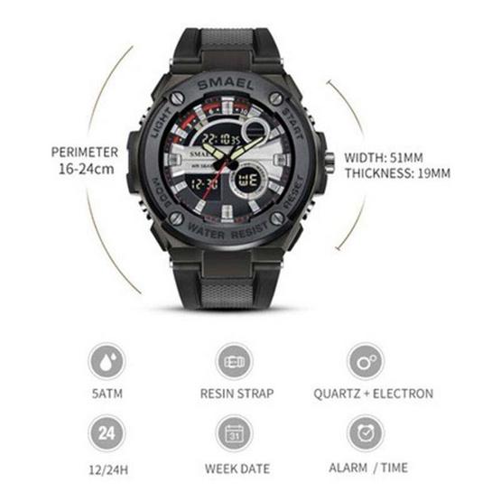 Smael นาฬิกาข้อมือ รุ่น SM1625