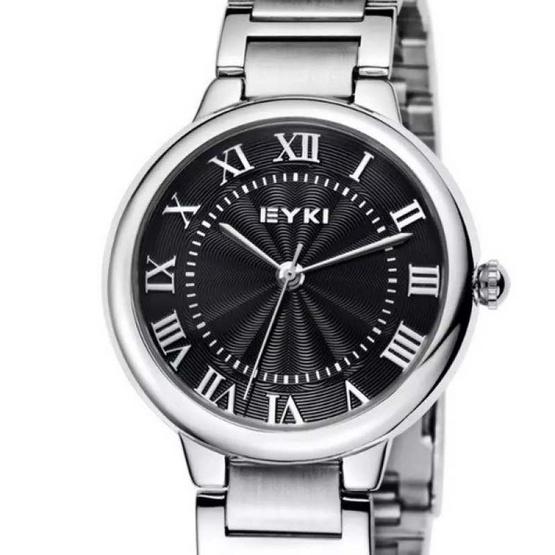 EYKI นาฬิกาข้อมือคู่รัก สายสแตนเลส รุ่น E-8793