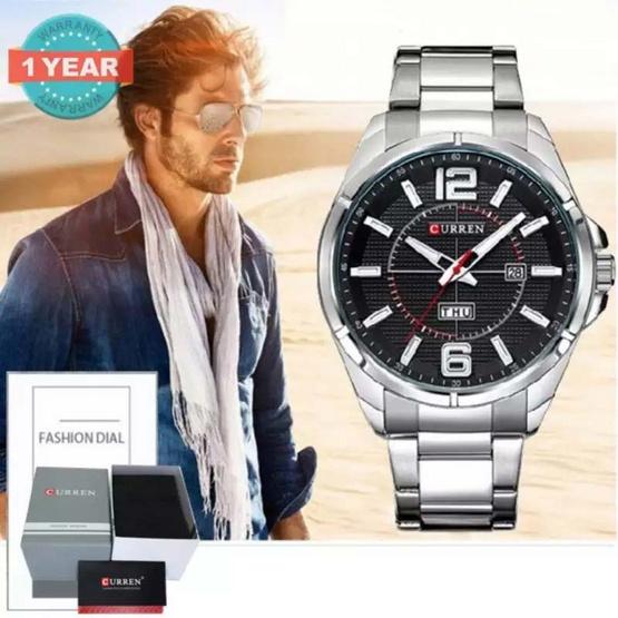 Curren นาฬิกาข้อมือผู้ชาย สายสแตนเลส รุ่น C8271