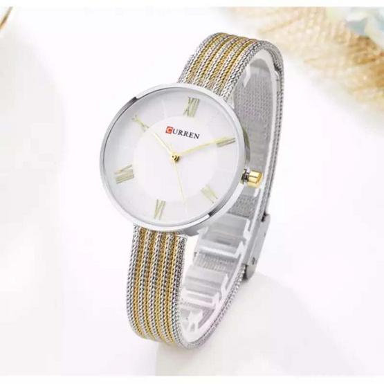 Curren นาฬิกาข้อมือผู้หญิง สายสแตนเลส รุ่น C9020
