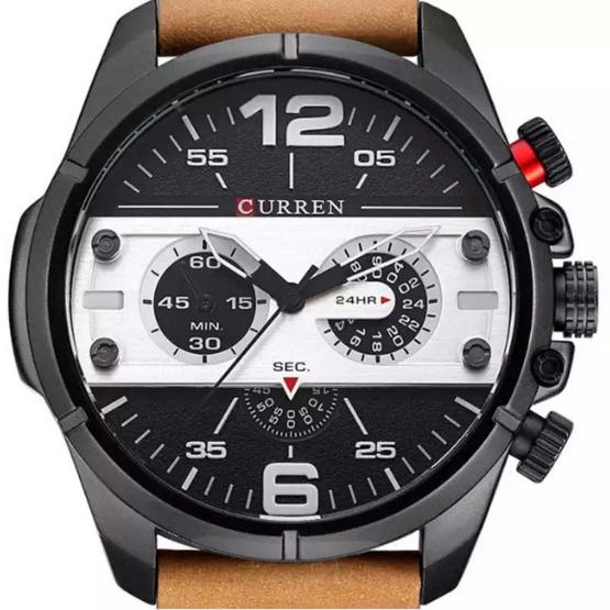 Curren นาฬิกาข้อมือผู้ชาย สายหนัง รุ่น C8259
