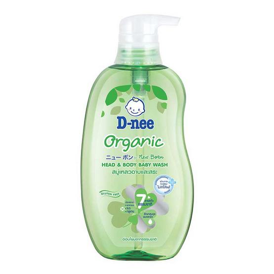 ดีนี่ครีมอาบน้ำออแกนิคฟอร์นิวบอน เฮด&บอดี้ เขียว 380 มล.