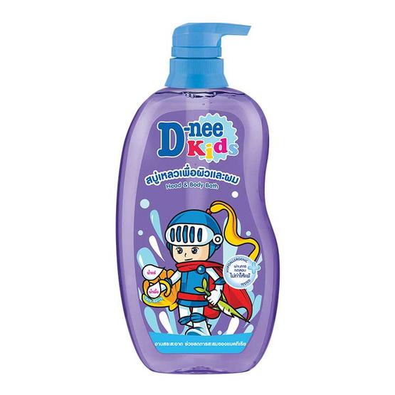 ดีนี่คิดส์ครีมอาบน้ำ เฮด&บอดี้ ม่วง 600 มล.