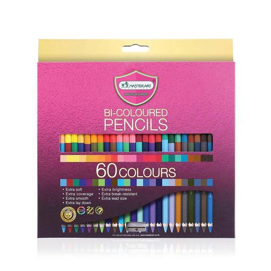 มาสเตอร์อาร์ต ดินสอสี 2หัว 60สี