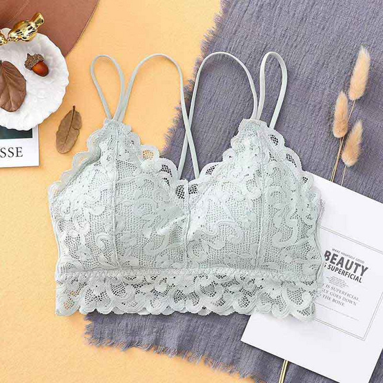 Wolfox Bra Cover Lace Violet
