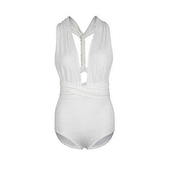 Wolfox Swimwear One Piece Infinity White
