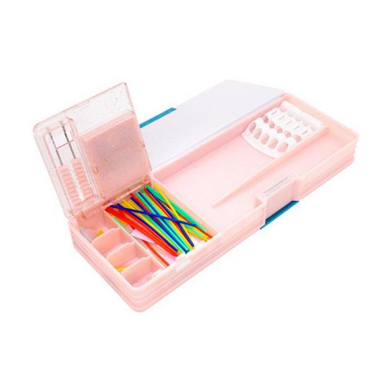 กล่องดินสอแม่เหล็ก PS101 คละลาย 1 ชิ้น (ไม่สามารถเลือกลายได้)