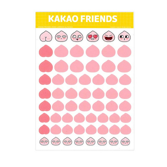 สติ๊กเกอร์ KAKAO FRIENDS KK245-02 ชมพู