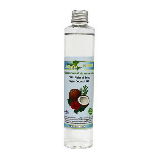 J-Taste น้ำมันมะพร้าวสกัดเย็น ขนาด 100 มล. แพ็ค 3 ขวด