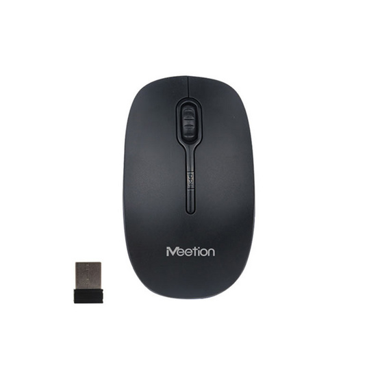Meetion เม้าส์ไร้สาย 2.4G Wireless Optical Mouse R547