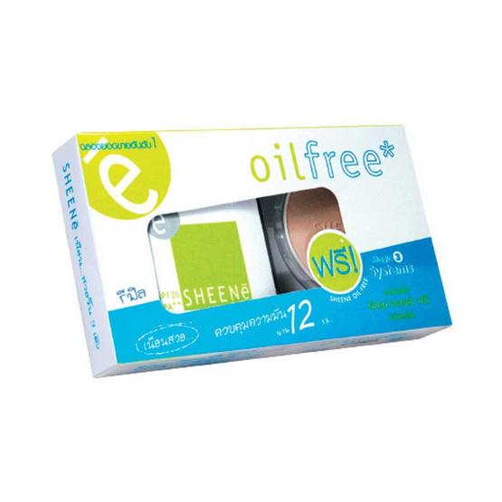 SHEENe Oil Free Powder SPF25 PA++ (Refill+Refill) #C2 8 g x2