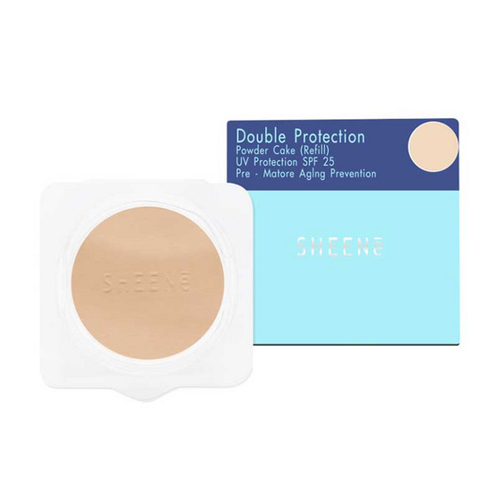 SHEENe Double Protection Cake Powder SPF18 Refill #C2 11 g