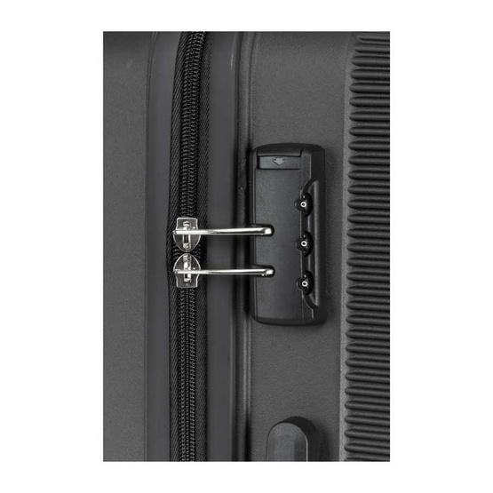 KAMILIANT กระเป๋าเดินทางล้อลาก รุ่น KIZA ขนาด (20นิ้ว) SPINNER 55/20 TSA สี BLACK