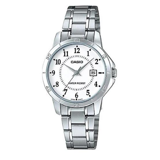 Casio นาฬิกาข้อมือ รุ่น LTP-V004D-7BUDF