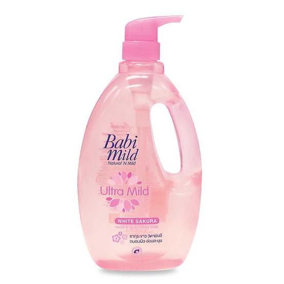 Babi Mild ครีมอาบน้ำ ซากุระ 850 มล.