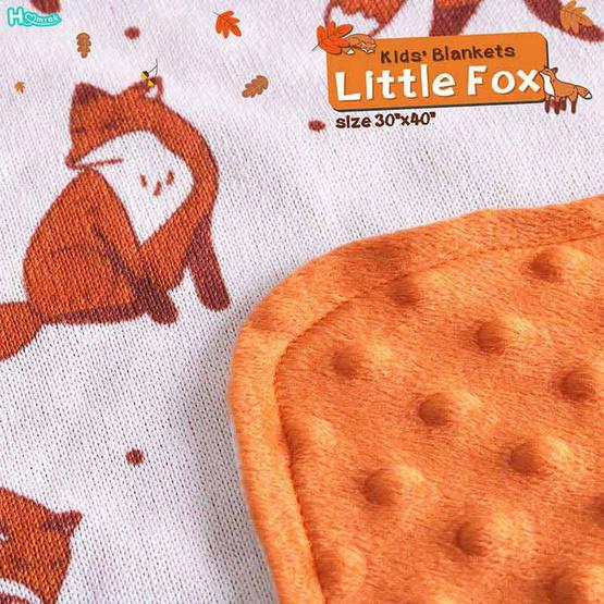 Homrak ผ้าห่มเด็ก Little Fox 30x40 นิ้ว