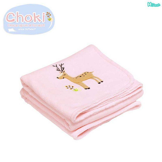 Homrak ผ้าห่ม Choki 30x40 นิ้ว